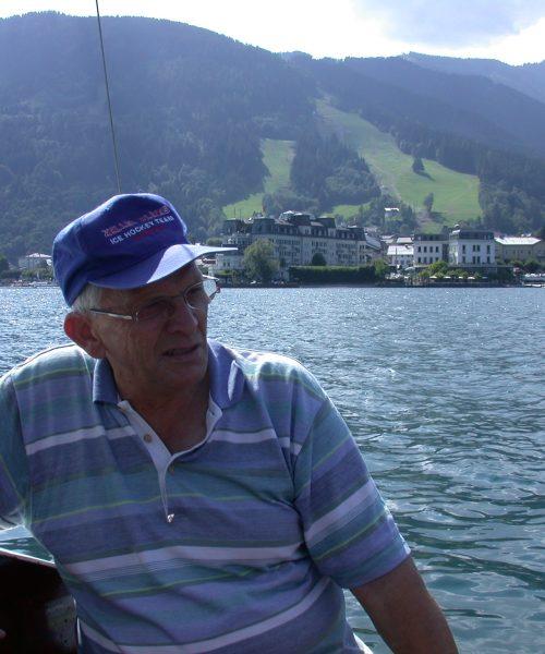 Sailing on Lake Zell